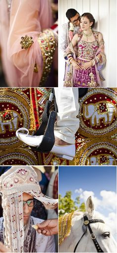 Ontario Hindu Jewish Christian Fusion Wedding, captured by Rowell Photography