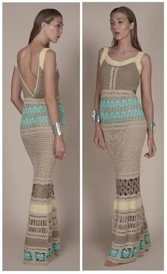 Crochetemoda: Crochet Dress