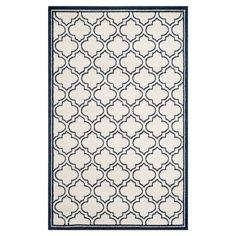 In-/Outdoorteppich La Salis - Creme/Marine - Maße: 121 x 182 cm, Safavieh Jetzt bestellen unter: https://moebel.ladendirekt.de/heimtextilien/teppiche/sonstige-teppiche/?uid=1c20e524-8d30-5276-80c0-d3530eff6992&utm_source=pinterest&utm_medium=pin&utm_campaign=boards #accessoires #outdoorteppiche #heimtextilien #sonstigeteppiche #teppiche #safavieh