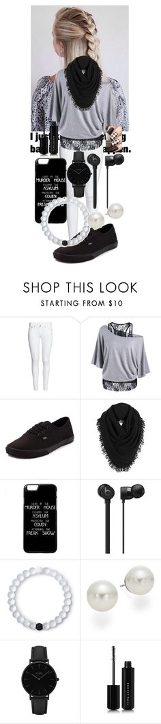 """""""See into the future"""" by frootloop16 ❤ liked on Polyvore featuring H&M, Vans, White + Warren, Lokai, AK Anne Klein, CLUSE and Marc Jacobs"""