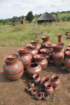 African Ceramics | to fire pottery the traditional Venda way at Mashamba Pottery ...
