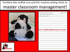 Free creativing writing sheet and classroom management system from Raki's Rad Resources.