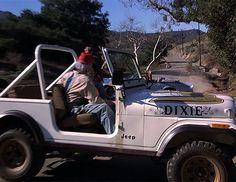 """DIXIE"" ... Daisy Duke's Golden Eagle CJ-7"