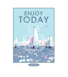 Lovely prints and posters available to buy at www.beckybettesworth.co.uk #vintage #devonartist #seasideprints #travelposters #vintagetravelposters #enjoytoday #beckybettesworth
