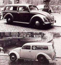 OG | 1960 Volkswagen / VW 1200 Combi | Designed by the belgian coachbuilder Meeussen, only 6 models were built.