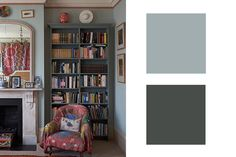 London Fog + Chimney Sweep Charcoal - Perfect Designer-Approved Color Combinations - Photos