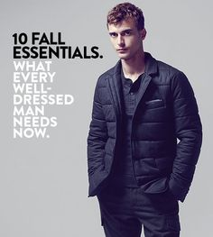 10 Fall Essentials   What every well-dressed man needs now.