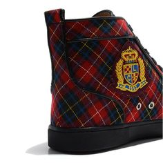 Louboutin Sneakers Zwart