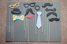 DIY: Fun and Cute Photo Booth Props