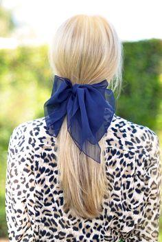 big hair bow barrette...