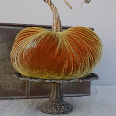 Image of Velvet Plush Pumpkin Jumbo