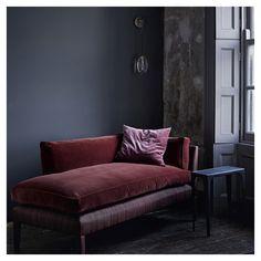 Ochre - Celestial Pebble wall light + Divine chaise longue