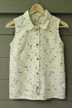 Linen Sleeveless Button-Ups | Anna McClurg