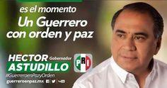 Héctor Astudillo será operado en la ciudad de México