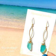 【palmseason】さんのInstagramをピンしています。 《海を感じるアクセサリー ・ Seaglassピアス 海を思わせる色のシーグラス ・ ・ webから購入して頂けます よろしくお願いします♡ ・ ・ ・ #mermaidjewelry#palmseason#mermaid#jewelry#handmade#shell#handmadejewelry#handmadeaccessory#sea#seaglass#okinawa#beachstyle#beachgirl#パームシーズン#ピアス#マーメイドジュエリー#マーメイド#ハンドメイド#ハンドメイドアクセサリー#ハンドメイドジュエリー#ハンドメイドピアス#シーグラス#シェル#ビーチスタイル#海#海を感じるアクセサリー#ビーチガール#海のある生活》