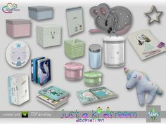 Just A Kidsroom Deco for The Sims 4