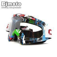 Maschera da motocross Enduro Off-road X Fun 18 Type Rosso