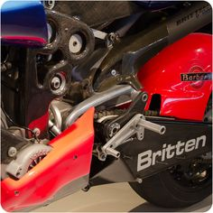 Britten V1000 was the first motorcycle to log engine data. Truly a pioneering effort on all fronts.