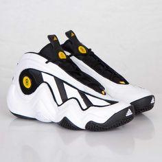Adidas Crazy 97   White   Black
