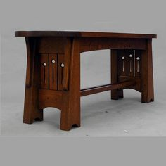 Arts And Crafts Furniture, Arts And Crafts House, Easy Arts And Crafts, Home Crafts, Craftsman Furniture, Wood Furniture, Furniture Design, Mission Furniture, Furniture Ideas