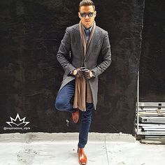 GREAT style inspiration by our friend @aleksmusika at work to @musikafrere . In my view coat, drive gloves, scarf and boots are really amazing matching Follow our partner @inspirations_luxury #Inspirationsstyle #Inspirationsluxury #suits #tie #suitandtie #mensfashion #menstyle #mensstyle #menswear #menfashion #stylegram #styleformen #classymen #mensclothing #moderngentleman #gentswear #gentlemansfashion #sprezzatura #sprezza #wristgame #wristwear #bespoke #dapper #pittiuomo #menwithclass…