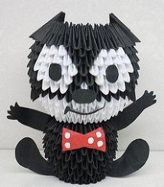 3D Origami - Felix the Cat