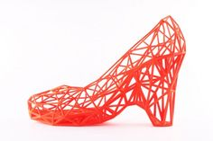 3D Printed Strvct Shoes by studio  Continuum Fashion