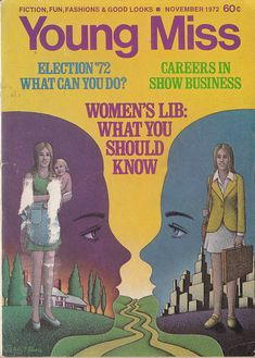 """Young Miss 1972, """"A Quiz on Women's Lib"""""""