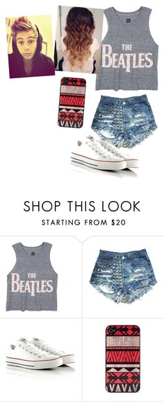 """""""Divergent with Luke (:"""" by littlemisshemmo ❤ liked on Polyvore featuring Converse and BlissfulCASE"""