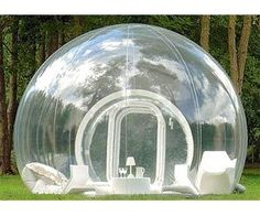 Bubble Tent. Very cool website as well. Lots of neat stuff!