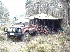Off-roading trip Land Rover Defender