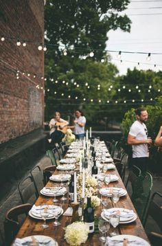 Epic 22 Outdoor Dinner Party Ideas https://weddingtopia.co/2018/01/24/22-outdoor-dinner-party-ideas/ Since the party happens outdoors, you would like to encourage guests to visit the backyard. In Spain, this kind of party is named El Aguinaldo