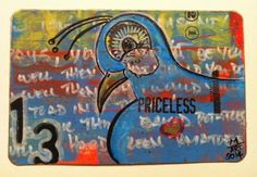 A Mynah Production: Postcards made from a Masterboard