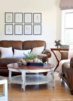Living Room Decor For Brown Sofa furniture layout ideas : balance and symmetry | couch sofa, brown