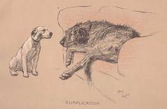 """""""Supplication"""" by Cecil Aldin"""
