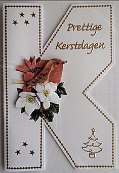 Alle handgemaakte kaarten uit Anneke's kaartenwinkel Christmas Diy, Christmas Cards, Christmas Decorations, Cross Stitch Cards, 3d Origami, 3d Cards, Die Cut Cards, Decoupage Paper, Scrapbook Sketches
