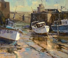 Ray Balkwill - Newquay Harbour II