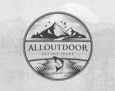 AllOutDoor Logo Inspiration Gallery | More logos http://blog.logoswish.com/category/logo-inspiration-gallery/ #logo #design #inspiration