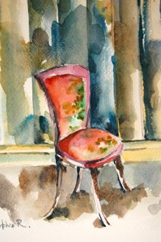 Happy Chair by Nancy on Etsy