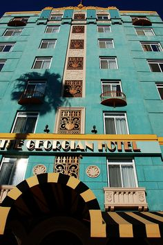 The Georgian Hotel by Atwater Village Newbie, via Flickr