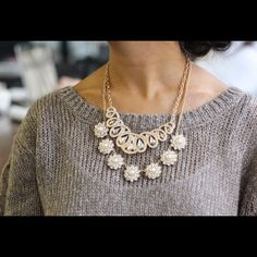 Charming Charlie - 601.605.2105 Add dimensional texture to any look by layering statement necklaces. @renaissanceatcolonypark #shoprenaissan...