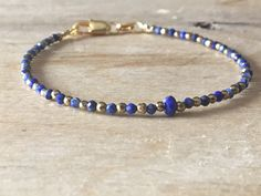 A personal favourite from my Etsy shop https://www.etsy.com/no-en/listing/587758342/lapis-lazuli-bracelet-blue-quartz-gold