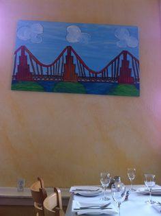 Pauline's Pizza #sanfrancisco San Francisco Restaurants, Pizza, Painting, Art, Art Background, Painting Art, Kunst, Paintings, Performing Arts