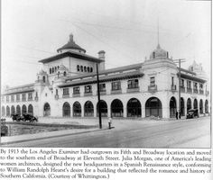 1913 Los Angeles Herald Examiner Building