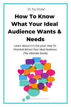 Have you ever wished you could get inside the head of your audience? Know what they are thinking and what they want? You can! In this post I show you how to find and attract your ideal audience. #startablog #bloggingtips #bloggingforbegginers #basicsofblogging #bloggingbasics #blogging #blogger #idealaudience #targetaudience #idealcustomeravatar #idealclient