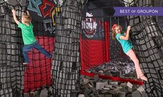 Krazy air trampoline park - Visitors of all ages bounce around a 28,000-square-foot trampoline park that features basketball, dodgeball, foam pits, and other activities