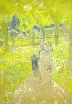 Edouard Vuillard / Étude pour matin ensoleillé