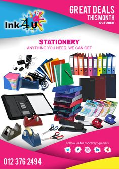 Stationery from in Pretoria South Africa