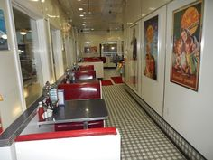 Johnny Rockets - Myrtle Beach Restaurant, Retro dining, Broadway At The Beach shopping mall, waterfront dining.