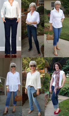 mulheres-maduras-jeans-e-camisa-branca